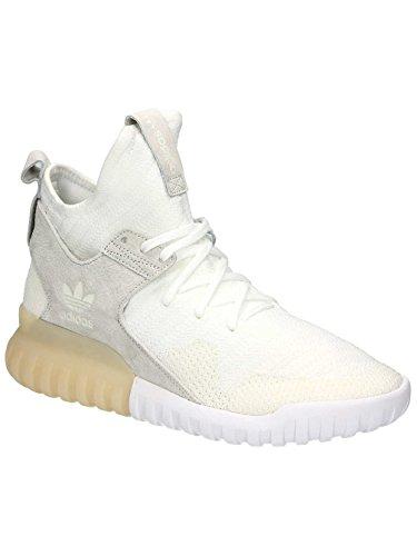 adidas Hombres Zapatillas de deporte Tubular X Primeknit blanco