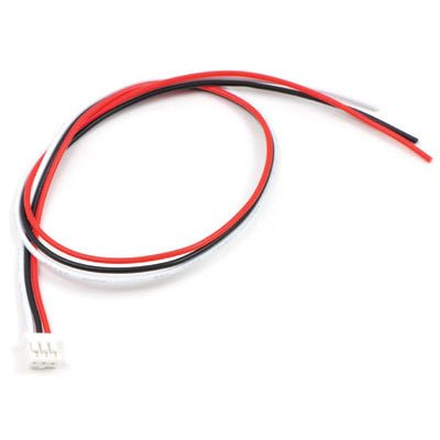 - Pololu 3-Pin Female JST PH-Style Cable (30 cm) for Sharp Distance Sensors (Item: 117)