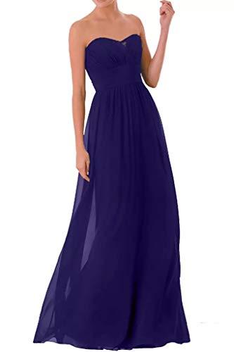 Abendkleider Blau Elegant Royal Brautjungfernkleider Dunkel Schnitt Traegerlos Marie Blau Braut Schmaler La Partykleider I6qA8xA