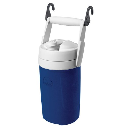 Igloo Sport Beverage Cooler with Chain Links (Majestic Blue, - Blue Igloo