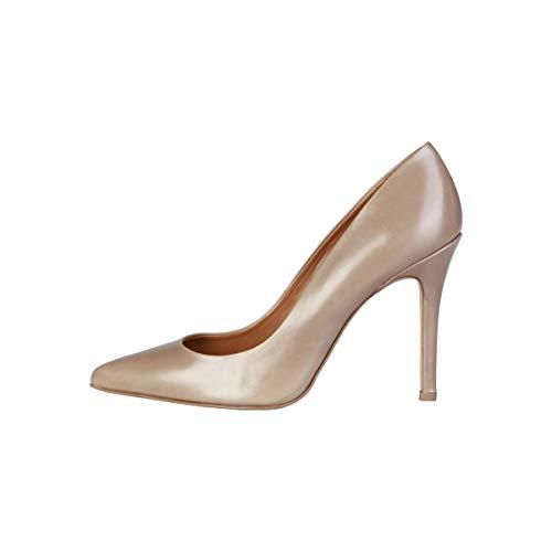 Cardin Tacón Mathilde Pumps De Mujer 10 Para Cm Zapatos Pierre Marrone fdgwq5