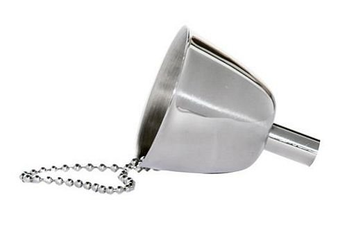 Excalibur Miniature Funnel With Chain For Pocket - Excalibur Flask