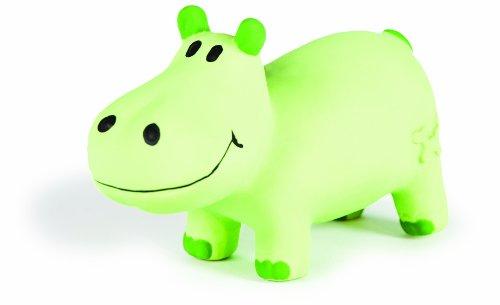 Charming Pet Lil Roamers Pet Squeak Toy, Large, Hippo