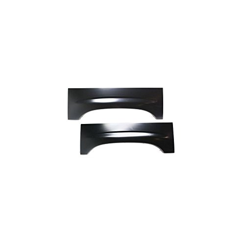 Wheel Arch Repair Panel compatible with Chevrolet Silverado 99-06 Right and Left Set of 2 Rear Upper