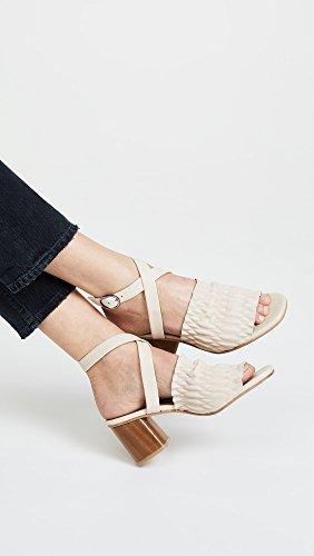 Coclico Chaussures Femmes Bloc Talon Sandales Naturelles