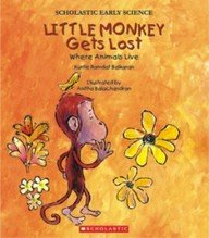 Download Little Monkey Gets Lost Where Animals Live PDF