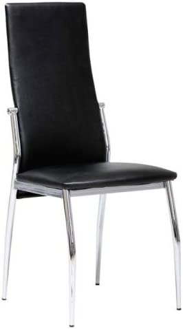 Links 30200800 Vegas Chaise Assise Noir 46 x 45 x 98,5 cm