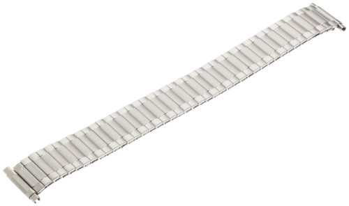 (Timex Men's 16mm Stainless Steel Watch Strap, Color:Silver-Toned (Model: Q7B745GZ))