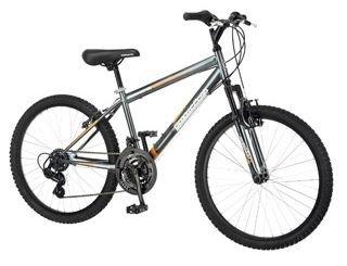 24'' Roadmaster Granite Peak Boys Mountain Bike (Black) by Roadmaster