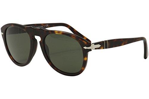 Persol PO0649 24/31 Tortoise PO0649 Pilot Sunglasses Lens Category 3 Size ()
