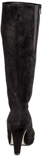 Noir Gabor Basic Schwarz Bottes Shoes Femme 17 Hautes CCXvxr