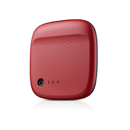 Seagate Wireless Mobile Portable Hard Drive Storage 500GB ST