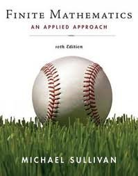 Download Finite Mathematics: An Applied Approach 10th (tenth) edition pdf
