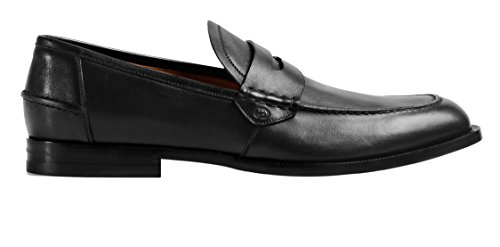 Gucci-Mens-Leather-Penny-Loafer-Black-368456