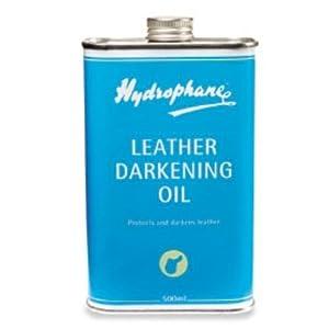 Hydrophane Leather Darken Oil, 500 ml ( 17 fl.Oz )
