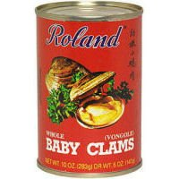 (Roland Whole Baby Clams (Case of 12))