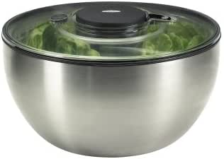 Amazon Com Oxo Steel Little Salad And Herb Spinner Xox