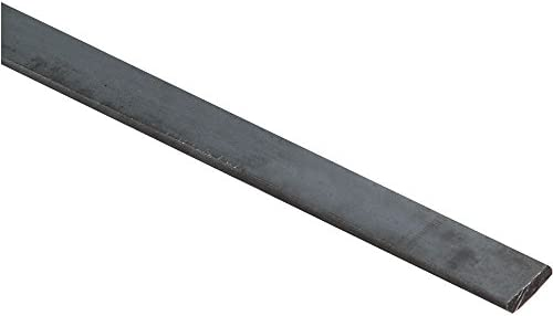 "National Hardware N215-517 4062BC Solid Flat in Plain Steel,1/2"" x 48"""
