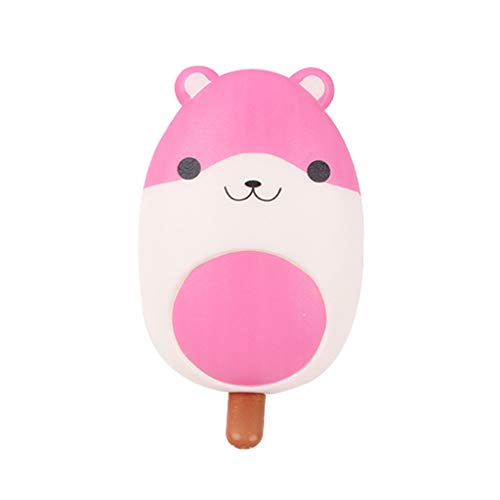 Stress Relief Toys - Mini Adorable Animals Ice-Lolly - Cream Scented Charm Slow Rising Doll Rebound Toys - Birthday Holiday Party Favors for Kids Adults - Stress Ball (B) -