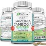 BioGanix 100% Pure Garcinia Cambogia Extract Premium 1600mg