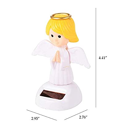 ygmoner Solar Dancing Powered Dancing Dolls Swinging Animated Dancer (Angel): Home & Kitchen