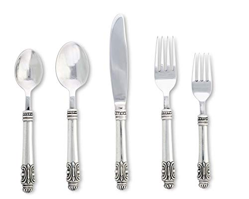 Vagabond House Pewter Medici Lunch 5 piece Flatware set