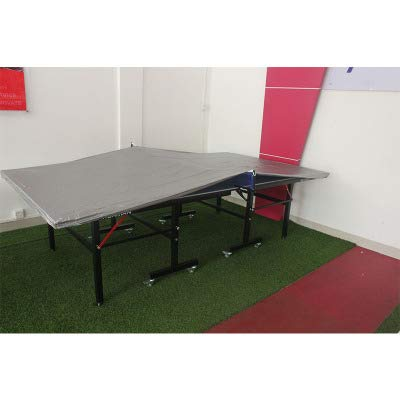 Heavy Duty Dual Function Indoor &Outdoor Ping Pong Table Covers, Waterproof & Dustproof Table Tennis Table Cover to Protect and Prevent Damage, Weather-Resistant and Designed to Fits Most Tables(HZC1