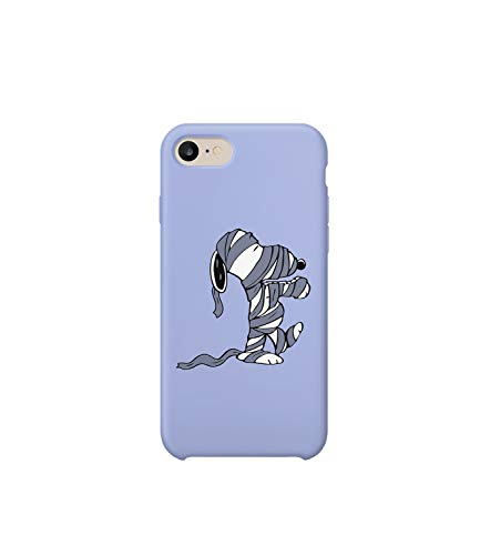 Mummy Joe Snoopy Character Protective Phone Mobile Smartphone Case Cover Hard Plastic for iPhone 7 Plus iPhone 7s Plus Funny Gift Christmas (Lite Mummy)