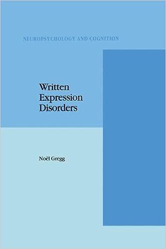 Ebook herunterladen gratis Nederlands Written Expression Disorders (Neuropsychology and Cognition) PDF PDB CHM
