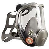 Respirator, Full Face, Clear Lens, Reusable, Large, 6900