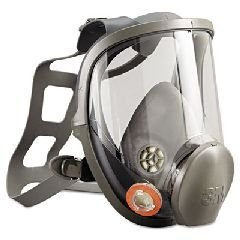 Respirator, Full Face, Clear Lens, Reusable, Large, 6900 by ERB (Image #1)