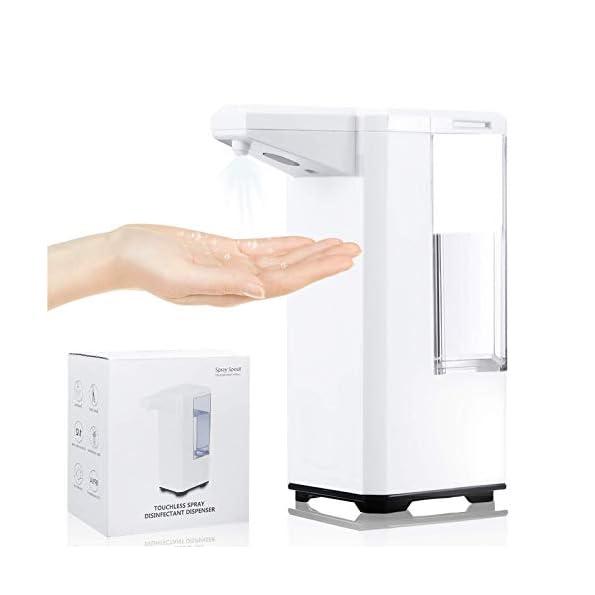 JOYXEON-Automatischer-Desinfektionsspender-Sensor-500ml-Berhrungsloser-Desinfektionsmittelspender-Automatisk-Sprhspender-Elektrisches-Alkoholsprhgert-mit-fr-Kchen-Bro-Schule-Krankenhaus-Hotel
