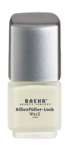 BAEHR Rillenfüller-Lack, weiß - 11ml BAEHR Rillenfüller-Lack weiß - 11ml