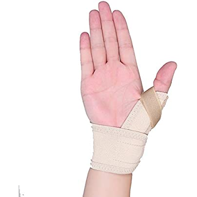ALXDR Thumb Brace Wristband Relieve Thumb Pain Prevent Joints From Bending Too Much For Both Right Left Hand Man And Women Free Size Estimated Price £40.63 -