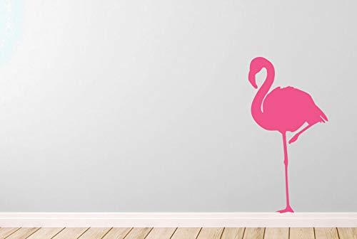 N.SunForest Flamingo Vinyl Stickers Wall Sticker Decor ()