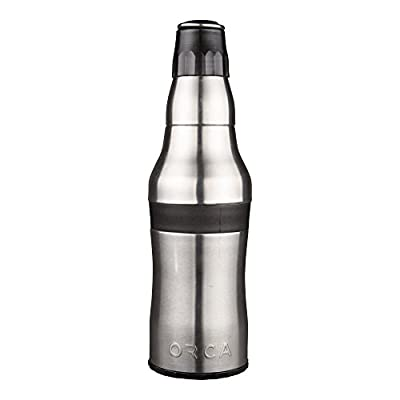 ORCA Rocket Bottle Cup and Can Holder ORCROCK Stainless Steel by Outdoor Recreation Company of America (Outdoors)