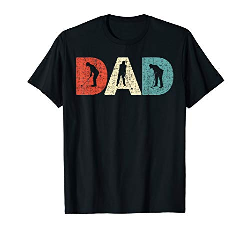 Mens Best Golfer DAD Papa by Par Golf Player Father's Day Daddy  - Dad Shirt Golf