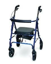Deluxe Aluminum Rollator Burgundy by Invacare by Invacare