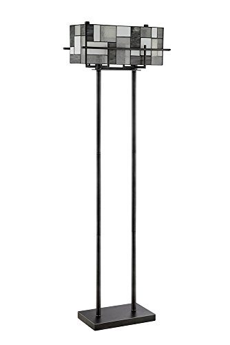 Lite Source Collins Aged Gunmetal Floor (Lite Source Lighting Glass Floor Lamp)