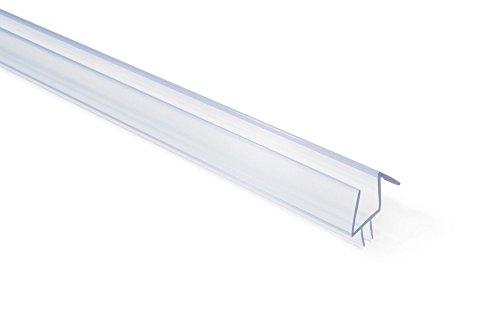 "1/2"" Frameless Glass Shower Door Sweep - Bottom Seal - Wipe - Drip Rail - 36"""