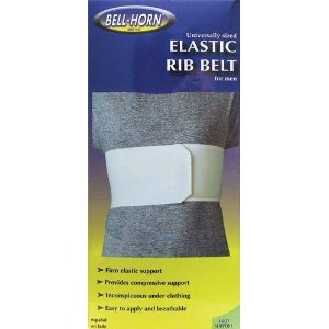 Universal Elastic Rib Belt in White Gender: Female
