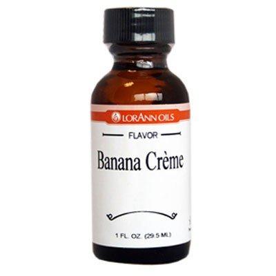 Lorann Hard Candy Flavoring Banana Creme Oil Flavor 1 Ounce