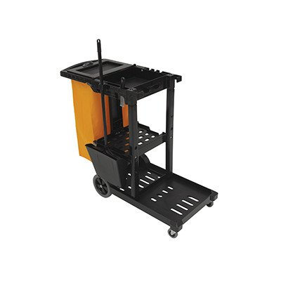 O'Cedar Commercial 96980 MaxiRough Janitor Cart