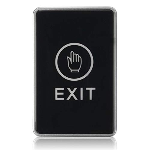 Liobaba Push Touch Sensor Button Access Control Door Exit With LED Indicator Light