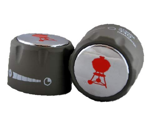 HIGH Reliable WЕВЕR #70377 Set of 2 Replacement Control Knobs for Summit GriIIs Fast Arrive
