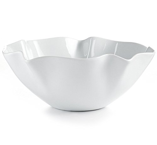 Bowl Ruffle Edge (The Cellar Whiteware Ruffle Serving Bowl)