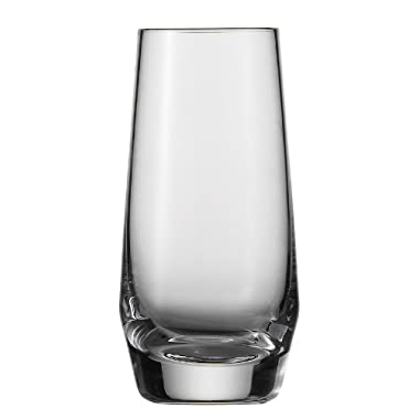 Schott Zwiesel Tritan Crystal Glass Barware Pure Collection Shot Glass, 3.2-Ounce, Set of 6