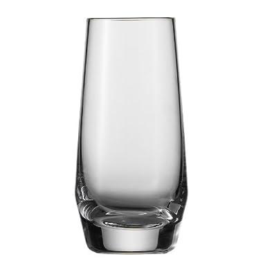 Schott Zwiesel Tritan Crystal Glass Barware Pure Collection Shot Glass, 3.2-Ounce, Set of 6