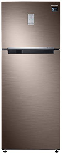 Samsung 476 L 2 Star Inverter Frost Free Double Door Refrigerator  RT49R6738DX/TL, Refined Brown