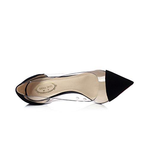 Peau Smart 10cm Mesdames Chaussures Sexy Mariage Escarpins Hauts Femmes à Mouton De Talons Pointu Printemps Soirée Bout wRXqnx48C
